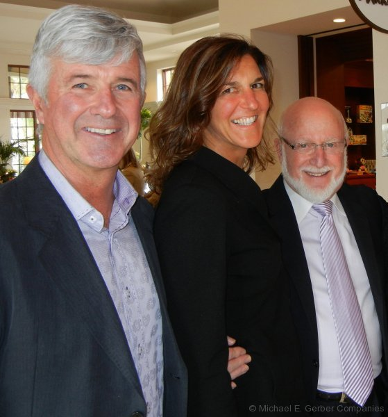 Michael with Frank and Cathy Sovinsky